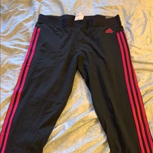 Adidas Tight Normal length tri- striped leggings